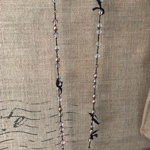 J. Crew beautiful long bead necklace